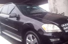 Well maintained black 2010 Mercedes-Benz M-Class for sale at price ₦6,500,000 in Lagos