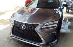 Used grey 2017 Lexus RX suv automatic for sale