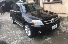 Well maintained black 2010 Mercedes-Benz GLK-Class automatic for sale at price ₦4,200,000