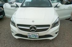 White 2014 Mercedes-Benz CLA-Class car automatic at attractive price in Abuja