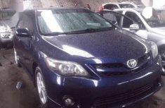 Toyota Corolla 2012 Blue color for sale