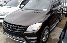 Well maintained brown 2013 Mercedes-Benz M-Class for sale at price ₦11,000,000 in Lagos