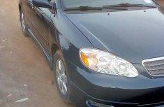 Best priced blue 2005 Toyota Corolla sedan automatic in Port Harcourt