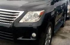 Well maintained black 2009 Lexus LX automatic for sale at price ₦29,000,000