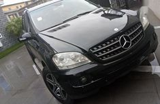Mercedes-Benz M Class 2008 Black for sale