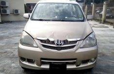 Almost brand new Toyota Avanza Petrol