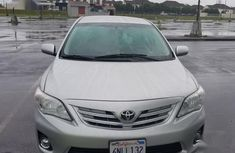Toyota Corolla 2013 L 4-Speed Automatic Silver for sale