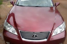 Selling red 2008 Lexus ES automatic in good condition in Lagos