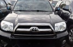 Toyota 4-Runner 2008 Black color for sale