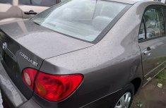 Toyota Corolla 2004 Sedan Gray for sale