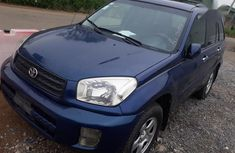 Blue 2001 Toyota RAV4 for sale at price ₦810,000