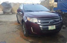 Sell used red 2011 Ford Edge automatic at price ₦3,300,000