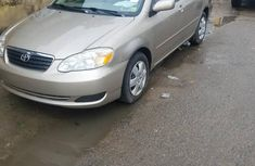 Toyota Corolla 2006 Gold for sale