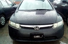 Black 2006 Honda Civic for sale at price ₦1,184,717 in Lagos