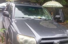 Toyota 4runner 2004 Grey for sale