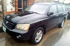 Nigerian Used 2007 Toyota Highlander for Sale 3-Row Seaters