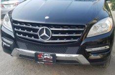 Mercedes-Benz M Class 2012 Black for sale