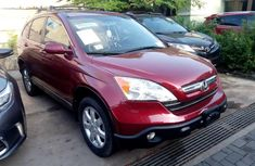 Sell cheap red 2007 Honda CR-V suv automatic in Lagos