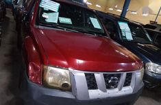 Used red 2005 Nissan Xterra automatic at mileage 18,000 for sale