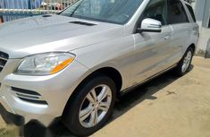 Sell very cheap clean grey 2013 Mercedes-Benz M-Class in Lagos