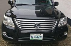Sell cheap black 2009 Lexus LX at mileage 95,000 in Ikeja