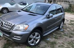 Mercedes-Benz M Class 2011 Gray for sale
