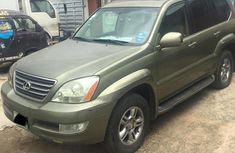 Lexus GX 2008 Green for sale
