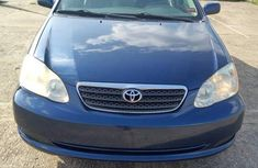 Clean used blue 2008 Toyota Corolla sedan manual for sale in Abuja