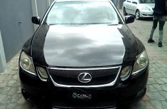 Well maintained black 2006 Lexus GS for sale at price ₦1,653,107 in Lagos