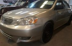 Sell well kept grey 2003 Toyota Corolla automatic