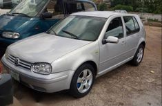 Grey 2004 Volkswagen Golf car at mileage 95,071 at attractive price