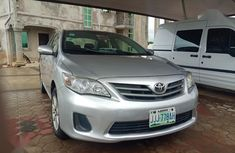 Toyota Corolla S Manual 2012 Silver for sale