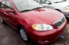 Sell high quality 2007 Toyota Corolla sedan automatic in Lagos