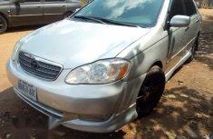 Toyota Corolla 2004 S Silver color for sale