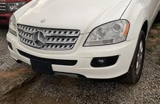 Mercedes-Benz M Class 2007 White for sale