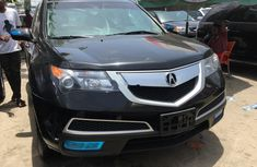 Sell used black 2010 Acura MDX suv automatic in Lagos