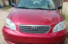 2008 Toyota Corolla automatic at mileage 141,110 for sale in Lagos