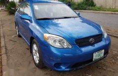 Blue 2007 Toyota Matrix car suv automatic in Lagos
