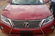 Lexus RX 2013 Red for sale