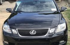 Sell black 2008 Lexus GS automatic at cheap price