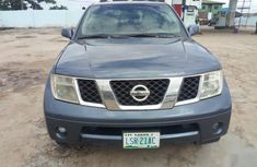Blue 2005 Nissan Pathfinder car at mileage 108,694 at attractive price