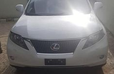 Well maintained white 2012 Lexus RX automatic for sale in Lagos