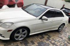 Mercedes-Benz E350 2010 White for sale