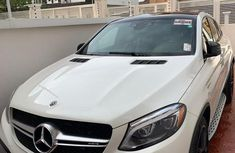 Best priced used white 2018 Mercedes-Benz GLE at mileage 9,000