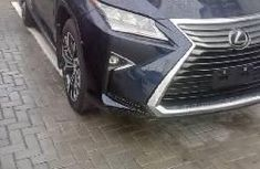 Best priced used blue 2017 Lexus RX automatic in Lagos