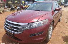 Sell cheap red 2010 Honda Accord CrossTour automatic at mileage 37,595