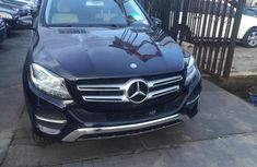 Used black 2016 Mercedes-Benz GLE suv automatic for sale