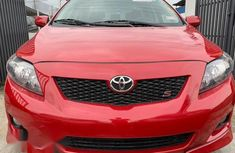Toyota Corolla 2009 Red for sale