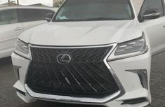 Used white 2017 Lexus LX suv for sale at price ₦38,000,000