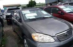 Well maintained grey 2003 Toyota Corolla for sale at price ₦950,000 in Lagos